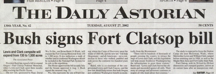 The Daily Astorian August 2002